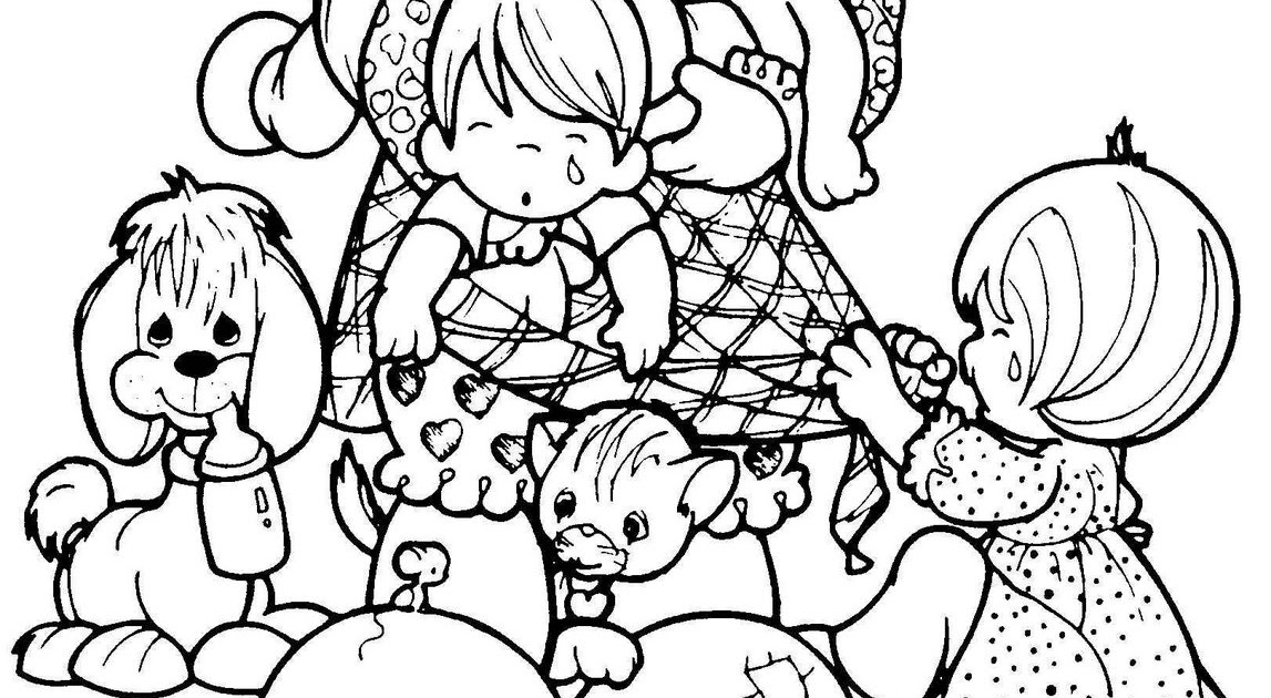 Mother 39 s day Precious moments coloring