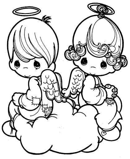 Valentin´s day coloring pages