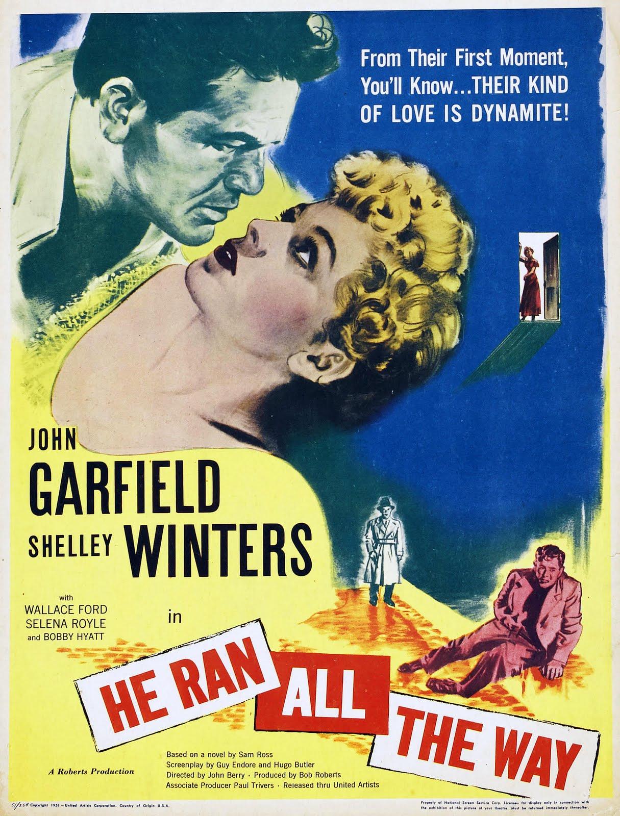 John Garfield's last film was