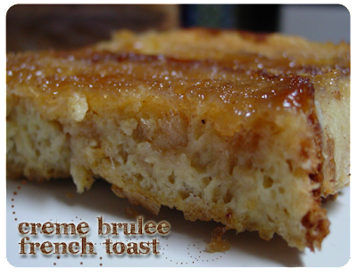 to eat french toast though is creme brulee french toast