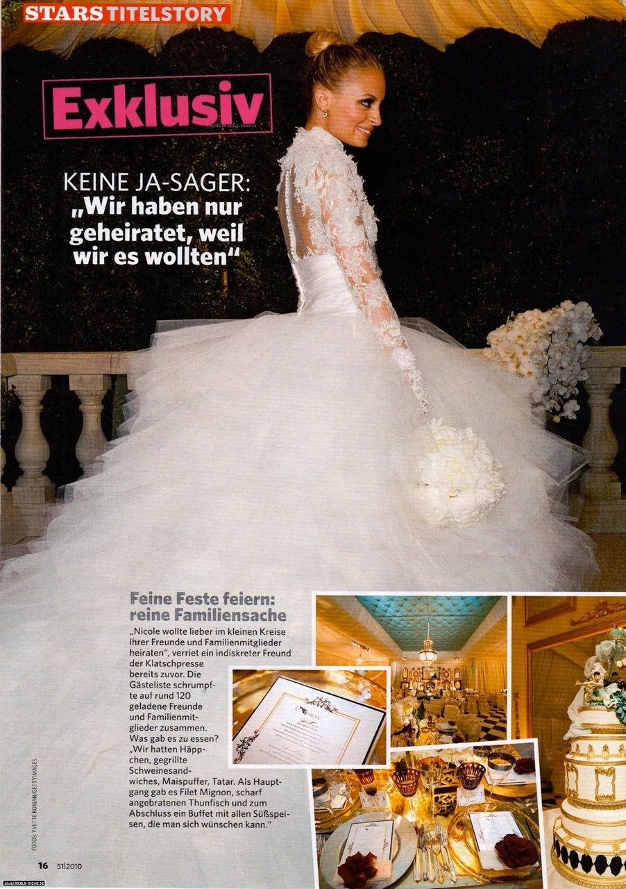 And Here: Nicole Richie Wedding Dresses At Reisefeber.org