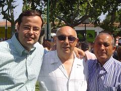 Con SUSO y A.F.SANCHEZ en LZ.