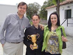 Isa, Ana Imaz y yo.