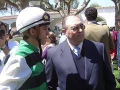 Angel Imaz y C.Soumillon en LZ.