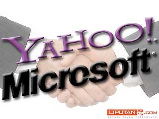 Microsoft dan Yahoo Bersatu