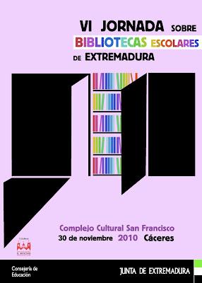 jornadas bibliotecas escolares extremadura cáceres Alfredo Gómez Cerdá Pep Bruno Gracia Iglesias Felipe Zayas cuentos libros