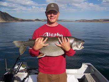 26 lb Trophy Lake Trout