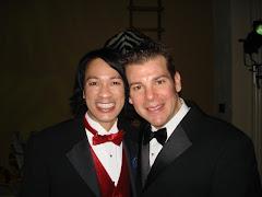 Mark and Sebastian at Amazona's Gala