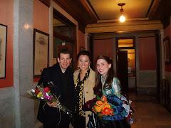 Mark, Soon and Joelle