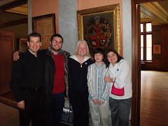 Mark, Al, Michelle, Michael, Melia after Dido