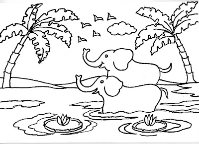 Dibujos para colorear para niños o infantiles, son láminas