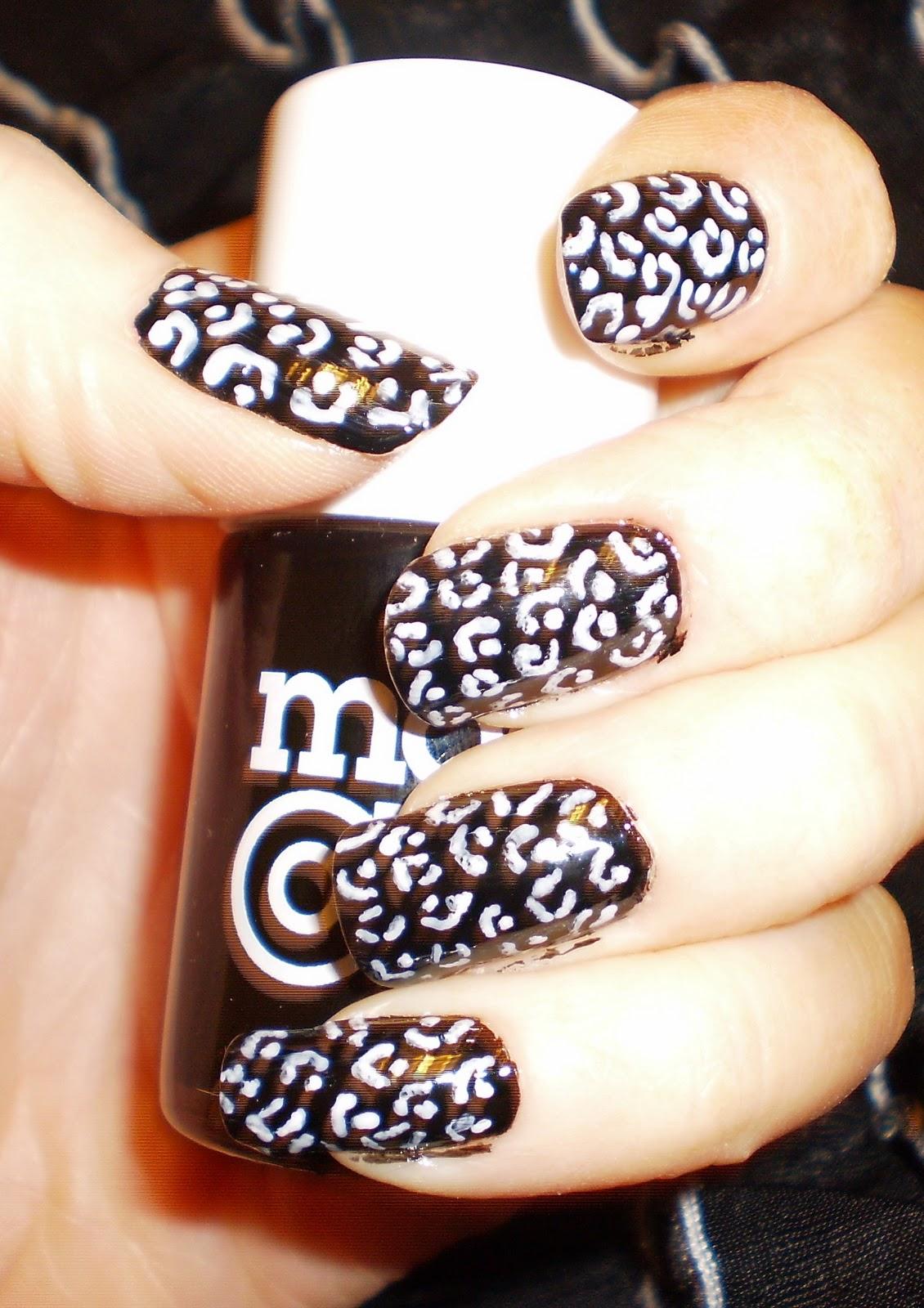 Маникюр для леопардового платья фото