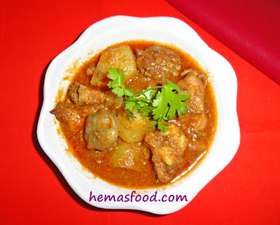 Potato and Chicken curry