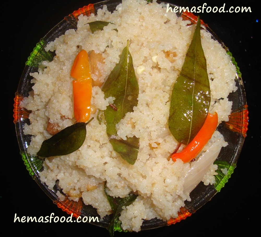 Indian food recipes hemas kitchen this recipe is prepared with rice grains which is very healthy and easy to digest forumfinder Images