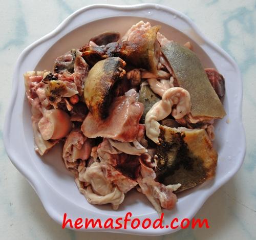 Talakaya Mamsam Goat Head Meat 250 Gms