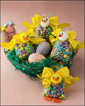M&Ms Easter chicks