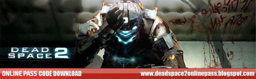Dead Space 2 Online Pass Code
