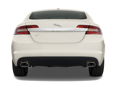2010 Jaguar XF rear view