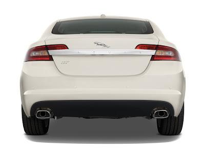 2010 Jaguar XF rear view