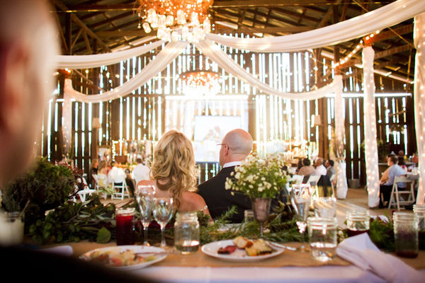 I frequently hear brides asking for a rustic but elegant wedding
