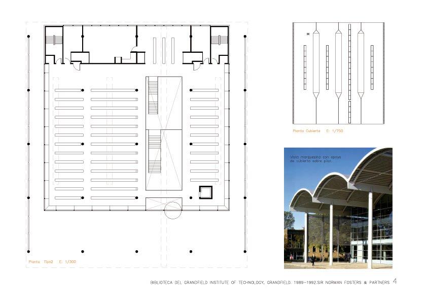 Arqbibliotecas biblioteca de cranfield institute of for Planos de bibliotecas