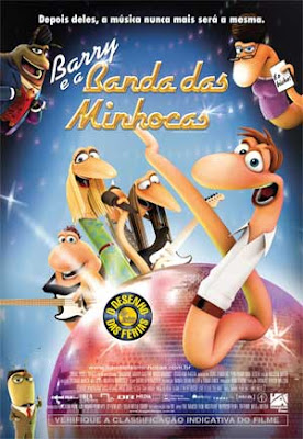 Filme Poster Barry e a Banda das Minhocas DVDRip XviD Dual Audio