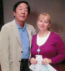 Com o Prof. Masaru Emoto