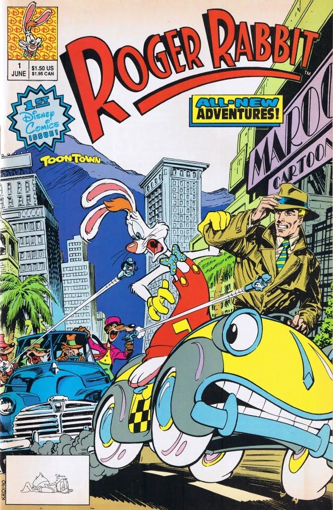 The Toontown Tattler: A Roger Rabbit Fan Blog: ROGER RABBIT Disney ...