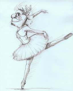 how to draw a realistic ballerina beginner