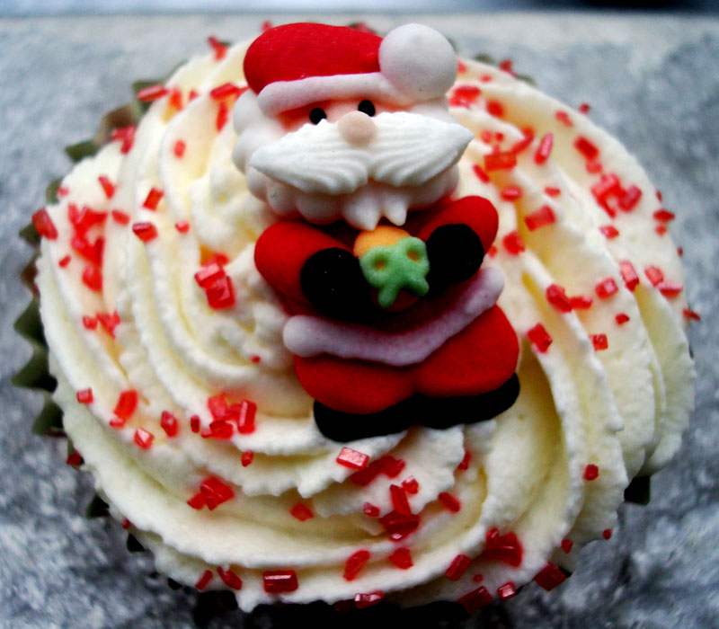 Objetivo cupcake perfecto cupcakes navide os de manzana - Objetivo cupcake perfecto blog ...