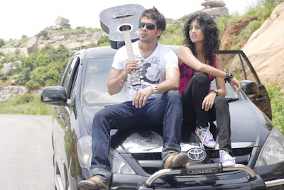 vaanam barath and vega in a car wallpapers