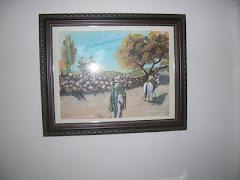 Campesino Mexicano con su mula