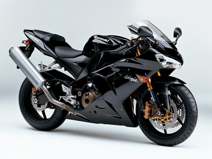 the Kawasaki Ninja new motorcycle shown in the images