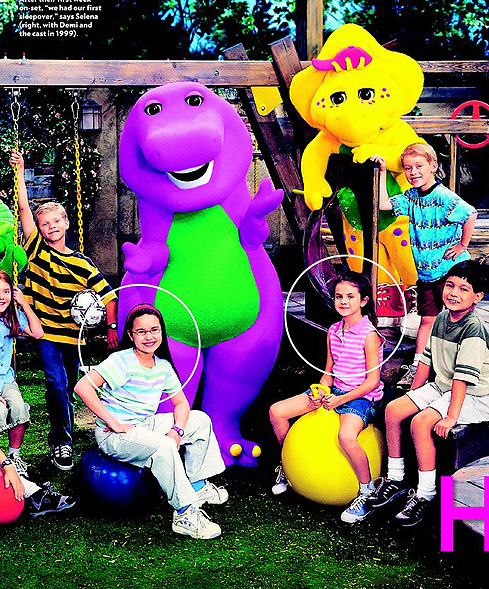 Demi Lovato pictures 4 - Demi Lovato on barney and friends