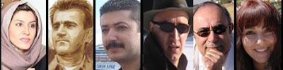 به جز  سپیده جدیری که در ایران زندگی میکند، شرکتکنندگان میزگرد را جمعی از شاعران و نویسندگان نام آشنای تبعیدی تشکیل میدهند: شیما کلبا سی،  علیرضا ز رین، نانام، آیرو، علی نگهبا