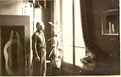 Emilio en su atelier