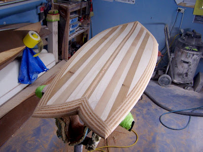 Wooden Surfboards: Hollow wooden fish , timber strips over plywood ...