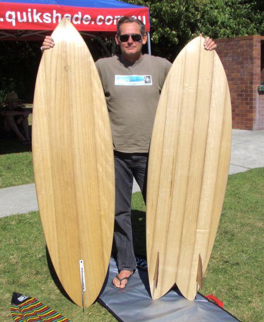 Alaia wooden surfboard - Wooden Surfboards Wooden Board Day 2010