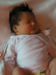 Our baby girl, one day old