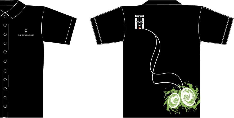 Staff T Shirt Designs | Jennifer Workman The Townhouse Staff T Shirt Design
