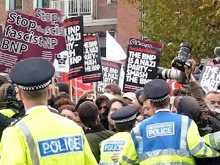 Protests outside Television Centre