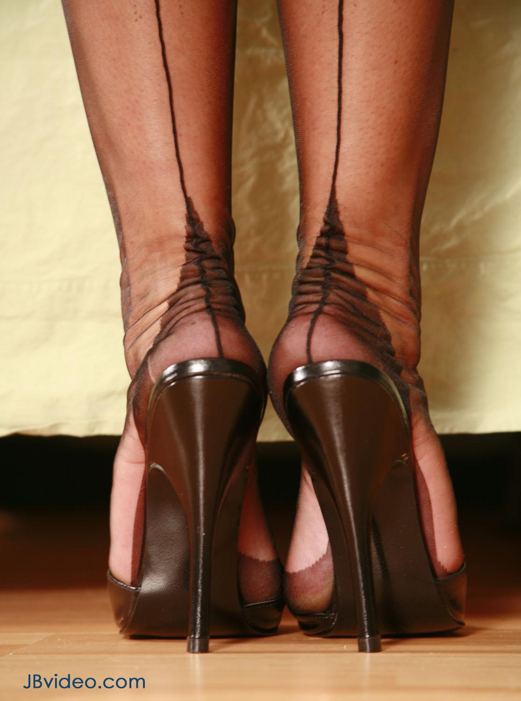 Sluts wearing 6 high heels
