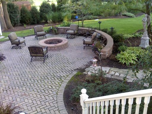 Charming Landscaping Ideas Around Patio Landscape Around Tree Groupings For Under  The Birch Trees After The Ivy