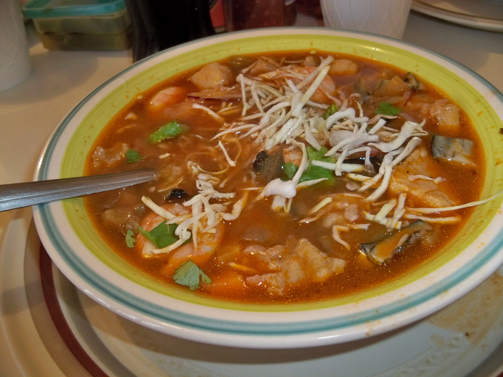 Guaymas mexico for Mexican fish soup recipe