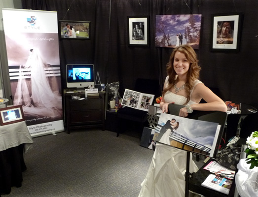 She helped out at our booth and was a great live testimonial for the Style