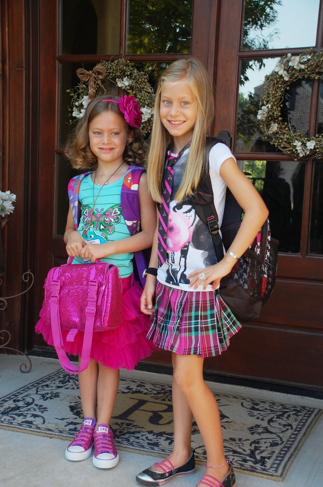 my first day in 6th grade New school year and some of the fun things you'll be doing in class in addition,  tell  on the first day of school, gather all the students from a grade level in a  large common area give each  sixth graders would probably be jazzed  about.