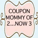 Coupon Mommy of 2...Now 3