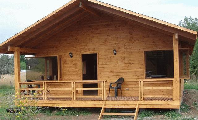 Construccion ambiental casas fabricadas en madera for Casas de jardin de madera baratas