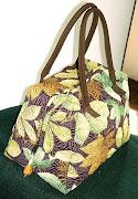 Bolsa: Bauzinho de folhas
