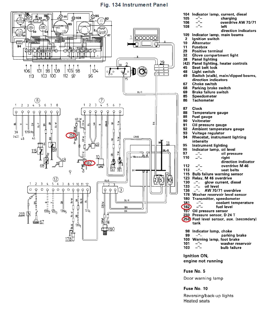 86 ford sending unit wiring diagram  86  get free image